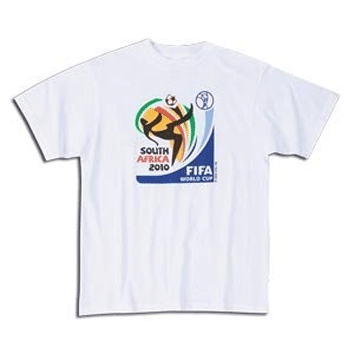 t shirt football de la coupe du monde 2010 tee shirt magazine. Black Bedroom Furniture Sets. Home Design Ideas