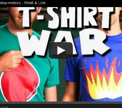 La guerre des tshirts
