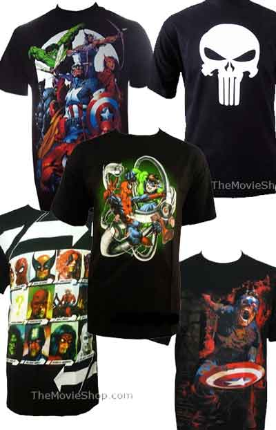 t-shirt-marvel
