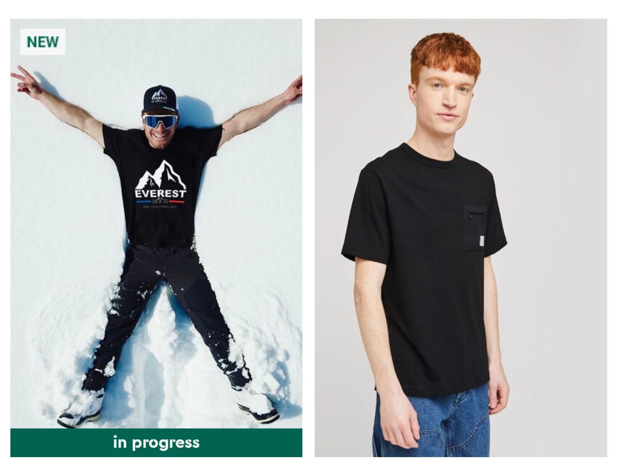tee-shirt noir jules jeunes